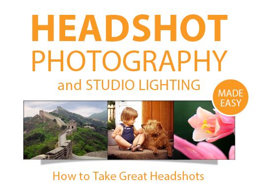 HEADSHOT PHOTOGRAPHY LIGHTING & POSING